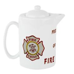 Fire Chief Property Teapot