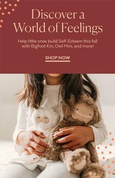 Educational Products For Childhood Emotional Learning – Slumberkins Self Esteem, Shop Now, Feelings, Mini, Self Confidence, Confidence