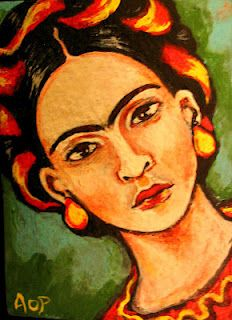 Day 4 ACEO Frida