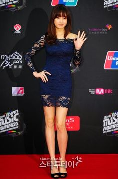 Kang So-Ra 강소라 2014 MAMA Kang Sora, K Idol, Bodycon Dress, Women's Fashion, Asian, Actresses, Models, Formal Dresses, Concert