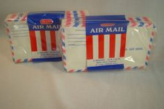 Set of 2 Unopened Pkgs 22 Count Vintage Rexall Air Mail Envelopes 44 Total NIP | eBay