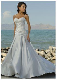 Beach for Sundresse Casual Wedding | Caribbean Style Wedding Dress,Buy cheap Caribbean Style Wedding