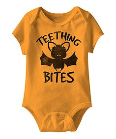 Look at this Mandarin  Teething Bites  Bodysuit - Infant on  zulily today! bf25ff348