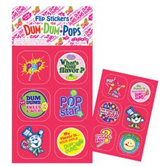 Dum dums prizes to win