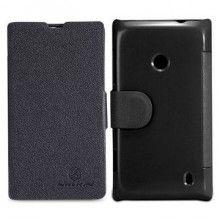 Funda Lumia 520 Nillkin - Fresh Series Negro  $ 134,80