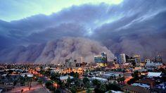 Sandstorm coming true