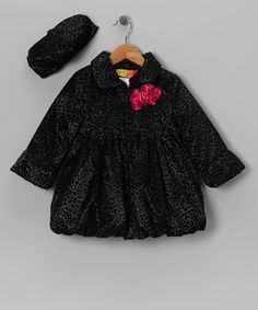 Black Cheetah Coat & Hat  http://www.zulily.com/invite/jpalmer893/p/black-cheetah-coat-hat-infant-toddler-girls-26721-1996222.html?tid=social_pinref_shareviaicon_na=1996222