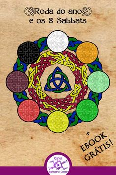 Wheel of the Year and the Sabbats - Pagan Calendar – Santuário Lunar Beltane, Samhain Ritual, Wiccan Sabbats, Wiccan Spells, Witchcraft, Wiccan Witch, Solstice And Equinox, Summer Solstice, Pagan Calendar