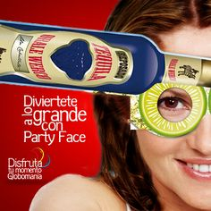 Cientos de diseños de nuestra línea #PartyFace para que te diviertas en tus eventos.  #DisfrutaTuMomentoGlobomanía