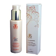 Arbonne RE9 Advanced Smoothing Facial Cleanser - Full Size, 3 fl.oz. Anti-Ageing Smoothing Facial Cleanser. Current Arbonne Stock - for this latest product and packaging make sure you select Sensual Life as the seller. Vegan Certified, Dermatologist Tested, Swiss Formulated, Made in USA. No nasty chemicals or ingredients. Part of the RE9 Anti-ageing range.