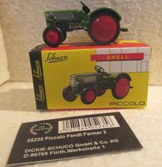 Oldtimer Traktor Fendt Farmer 2  Maßstab: Piccolo Metallmodell Hersteller: Schuco Nummer:...,Fendt Farmer 2 Traktor - Schuco Piccolo - Sammler Modell, OVP in Bayern - Kühbach