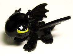 How to Train Your DRAGON Toothless OOAK Hand Painted Custom Littlest Pet Shop #Hasbro
