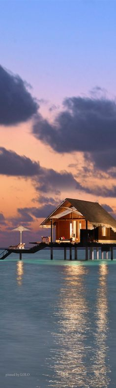 Reethi Rah Maldives island extension idea out in the water attached to our private island