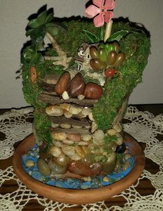 Beautiful fairy garden arrangements available!