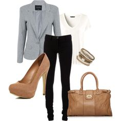 """""""Business Casual"""" by laurenngurd on Polyvore"""