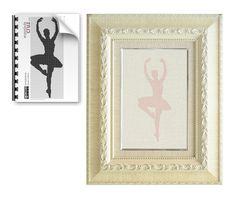 Patrón gratis semanal en punto de cruz: Bailarina - enpuntodecruz.com