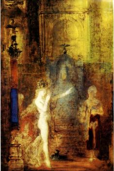 Gustave Moreau.  The Moreau Museum in Paris is one of the great places to visit...