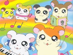 Hamtaro, too cute to look away.