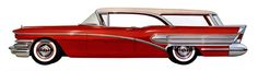 Plan59 :: Woodies :: 1950s Station Wagons :: 1958 Buick Special Riviera Estate Wagon