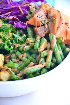 Big Summer Buddha Bowl {Vegan, Gluten-Free, Soy-Free}