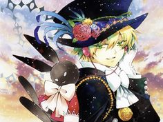 Pandora Hearts: At his coming of age ceremony, Oz is mysteriously cast down into The Abyss and befriends Alice and the Black Rabbit. If you like Lewis Carrol's Alice in Wonderland, this fantasy/mystery series is for you!