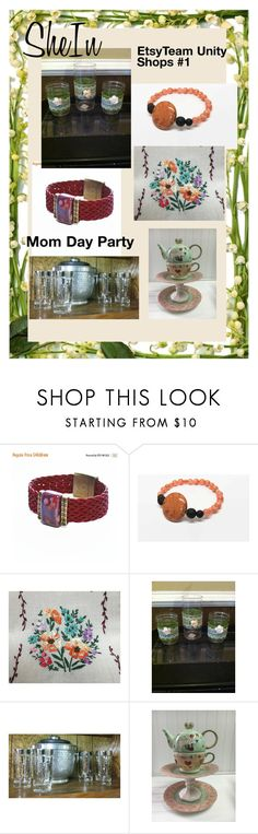 """""""Mom Day Party- #Gifts #Jewelry #Home Decor #Garden Decor #Collectibles"""" by hvaradhan ❤ liked on Polyvore"""