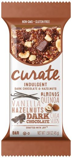 Curate™ Indulgent Snack Bar 1.59 oz. Pack Delicious and healthy! #Influenster #TasteCurate