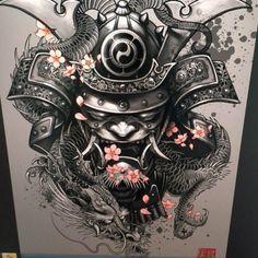 mascara samurai tattoos - Pesquisa Google