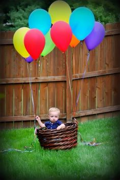 up up and away!!! First Birthday... Penny DeMastes Photography