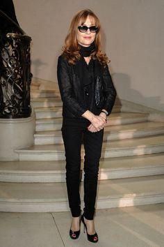 Isabelle Huppert Peep Toe Pumps - Isabelle Huppert Shoes - StyleBistro