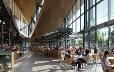 Gallery of Snøhetta Designs New Public Market for Portland - 3