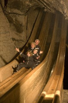 My dad told me about this there is a resturant at the bottom of the mine....I want to experience this its in Germany