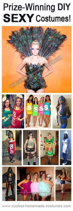 Sexy Halloween Costumes That Won Prizes in Real Contests! Someday i will do the peacock.