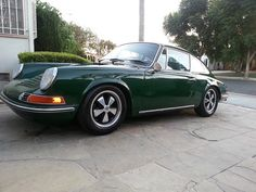 1969 Porsche 912 - Gorgeous! The 912 was just such a pure look. I would always stop and look at a 912. I still do.