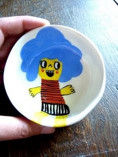 Lovely illustrated bowl by Natalie Choux