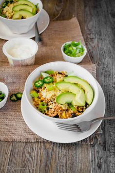 Slow Cooker Chipotle Chicken Burrito Bowl | The Gastronomic BONG