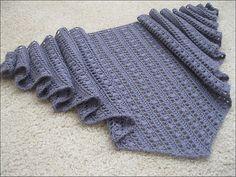 Knitting&Crochet Obsession: Free Shawl Pattern