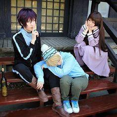 ⠀ ⠀ «NORAGAMI» Yato & Yukine & Iki Hiyori ♛ ––––––––––––––––––––––––––––––––––––– 【 #noragamiaragoto #noragami #aragoto #ikihiyori #yatogami #yato #yukine #hiyori #iki #shinki #sekki #yaboku #hiyorin #whitagram #mangacap #animeotaku #animelove #animeworld #animecosplay #cosplay #cosplayer #h0lllymolly #ノラガミ #コスプレ 】 ⠀ ⋯⋯⋯⋯⋯⋯⋯⋯⋯⋯⋯⋯⋯⋯⋯⋯⋯⋯ #CN: MAKURO_MK , Akira , Eeyore 💖 ⋯⋯⋯⋯⋯⋯⋯⋯⋯⋯⋯⋯⋯⋯⋯⋯⋯⋯