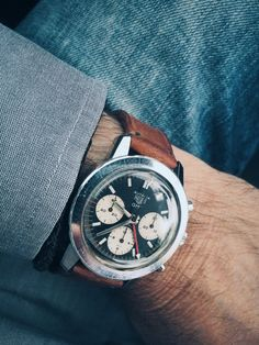 Heuer Autavia GMT Abercrombie & Fitch