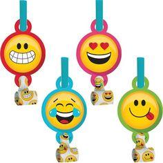 Emoji Blowouts Party Favors @ Kidz Party Shoppe