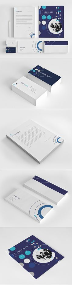 Business Stationery Pack. Download here: http://graphicriver.net/item/business-stationery-pack/7596132?ref=abradesign #design #stationery