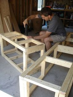 diy outdoor bench Ramblingrenovators.ca