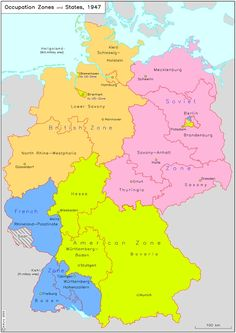 Occupation Zones and States (1947)