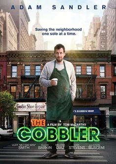 The Cobbler 11x17 Movie Poster (2015)