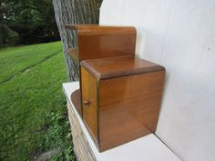 Art Deco/ Mid Century Modern wooden end table