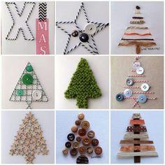 Kerst 2014 Christmas Cards To Make, Xmas Cards, Diy Cards, Christmas Holidays, Christmas Crafts, Christmas Ornaments, Xmas Tree, Homemade Cards, Diy For Kids