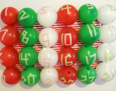 Weekend Pursuits: Balloon Advent Calendar