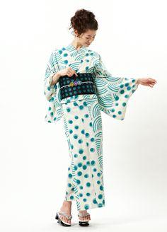 【楽天市場】【2013オリジナルゆかた】江戸小紋魚:ふりふ #yukata #kimono Traditional Japanese, Japanese Style, Kimono Fashion, Love Fashion, Kimono Style, Kimono Top, Kimono Japan, Yukata, Ao Dai