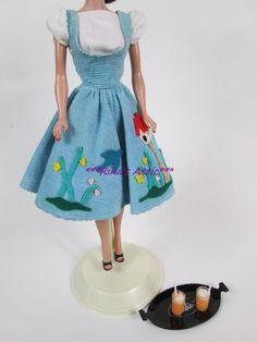 Vintage 1960's FRIDAY NIGHT DATE #979 Barbie Doll Outfit Dress Fashion in Dolls & Bears, Dolls, Barbie Vintage (Pre-1973)   eBay