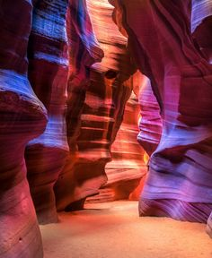 Must see on or next roadtrip in March...... Antilope Canyon, Page, Arizona